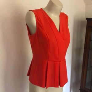 Banana Republic sleeveless v-neck blouse